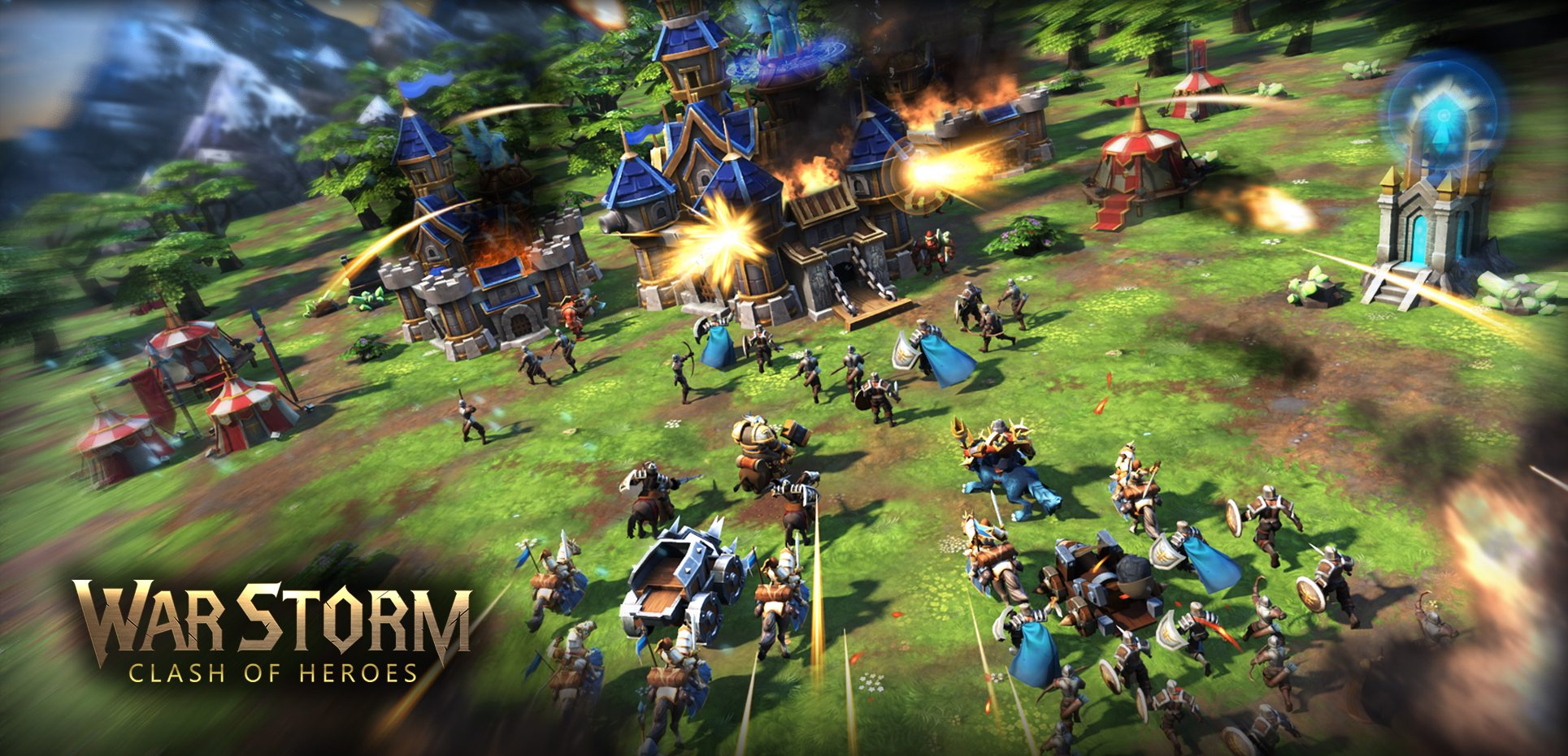 War Storm: Clash of Heroes Now Available Worldwide for Mobile