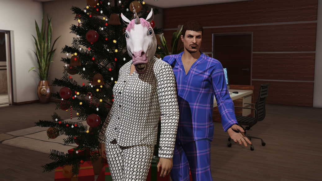 GTA Online Festive Surprise Holiday Bonuses – Los Santos Snowfall, Juggernaut Mode and More