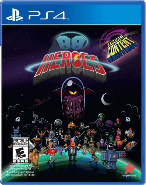 88 HEROES by Rising Star Games Now Available for Consoles and PC