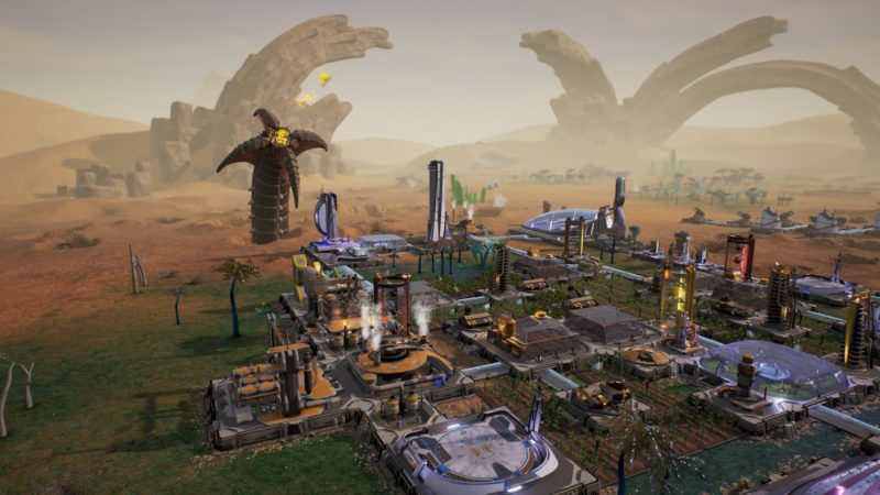 AVEN COLONY Now Available for PS4, Xbox One and PC