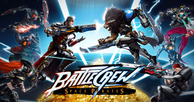 BATTLECREW Space Pirates Now Available on Steam with FREE Version, New Trailer