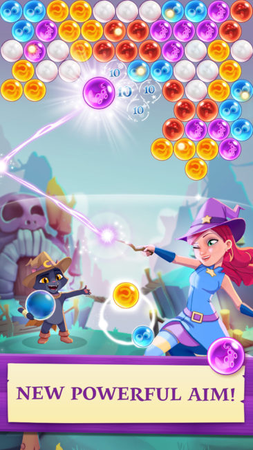Bubble Witch 3 Saga Launches on Mobile Devices Worldwide