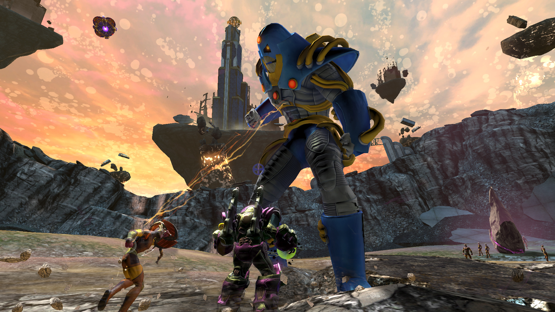 DC Universe Online Celebrates 6-Year Anniversary with the Anti-Monitor