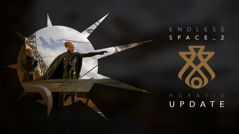 ENDLESS SPACE 2 Horatio Faction Update Now Available on Steam, New Trailer
