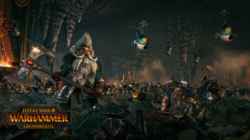 Total War: WARHAMMER Free Grombrindal DLC Launches Today