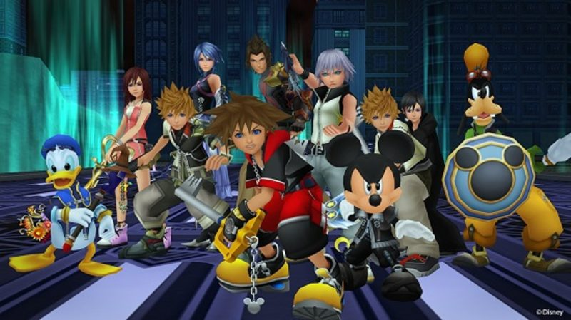 KINGDOM HEARTS HD First Compilation Now Available for PS4