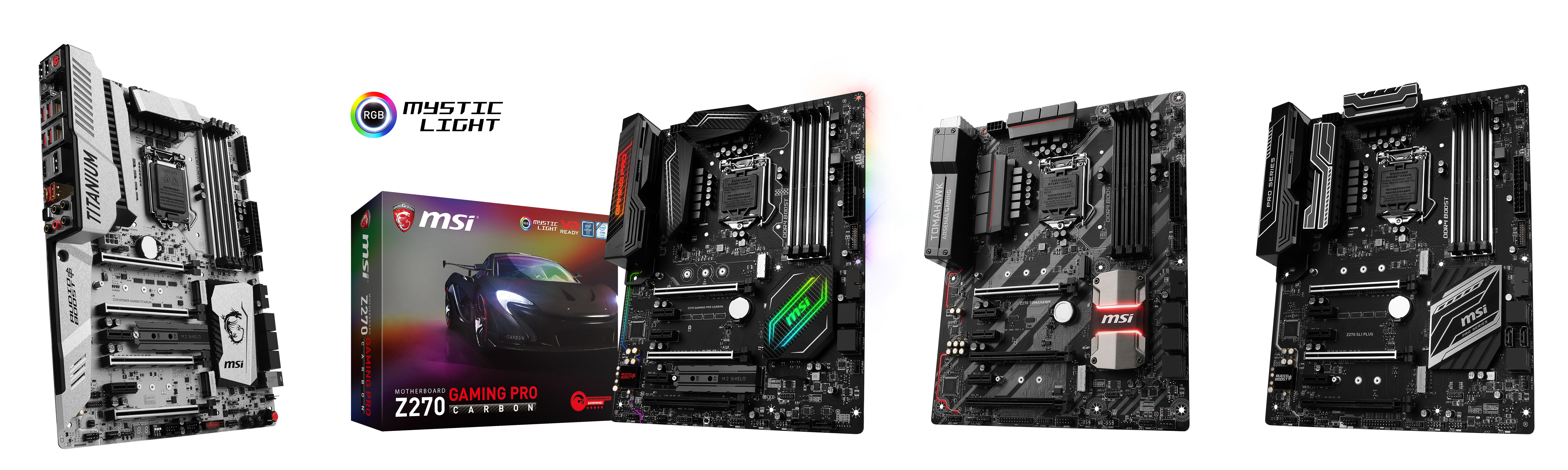 MSI Rocks CES 2017 Hand-in-Hand with Intel and NVIDIA