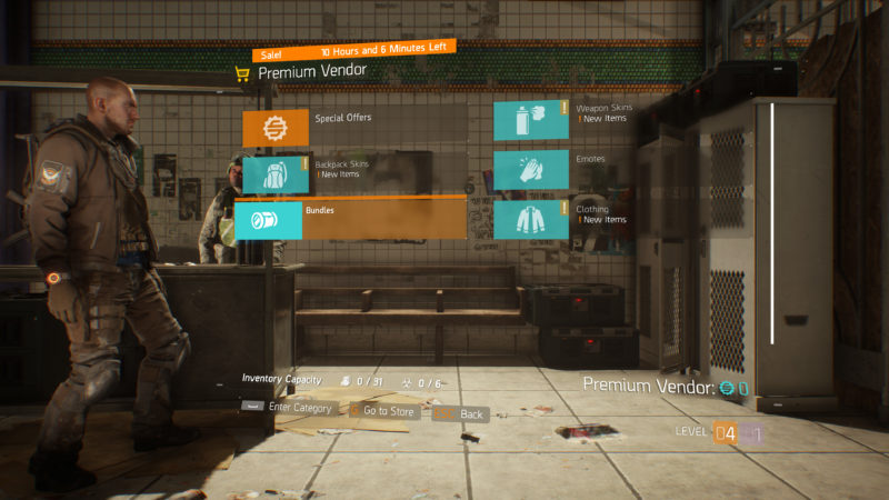 Tom Clancy's The Division Expansion III Last Stand, Update 1.6 Details Revealed