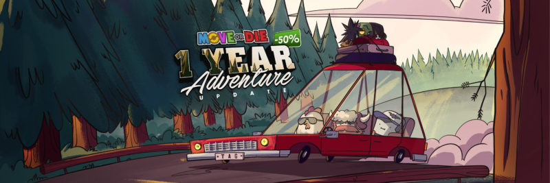 MOVE OR DIE Celebrates Launch Anniversary with 1 Year Adventure Update