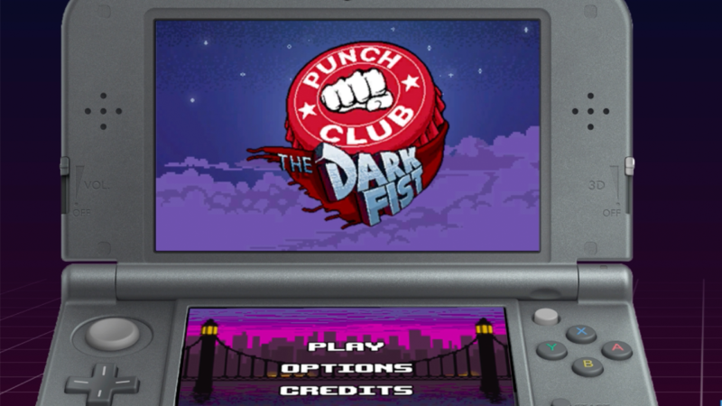 PUNCH CLUB Launching on Nintendo 3DS Feb. 19