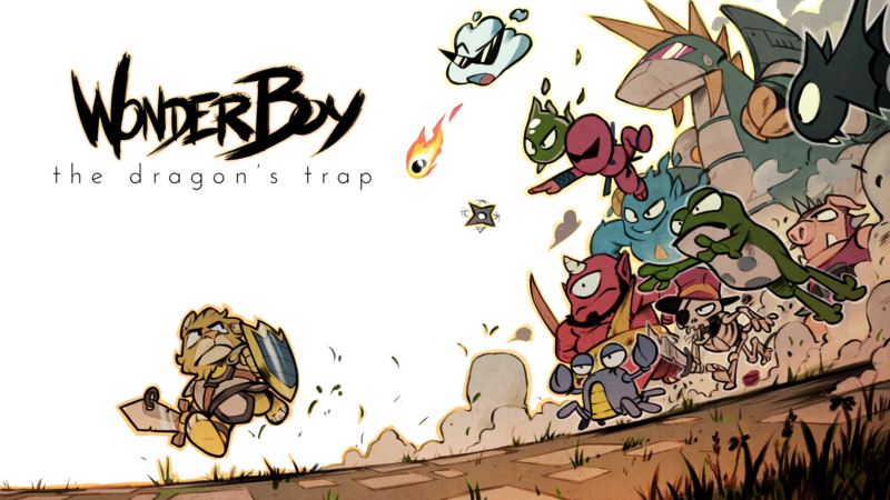 Wonder Boy: The Dragon's Trap Lets You Switch from HD to New Retro Feature