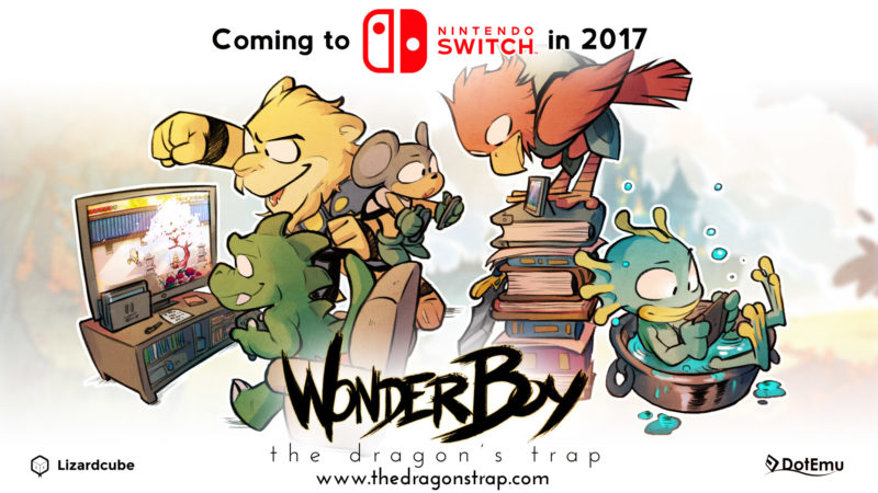 Wonder Boy: The Dragon's Trap Coming to Nintendo Switch