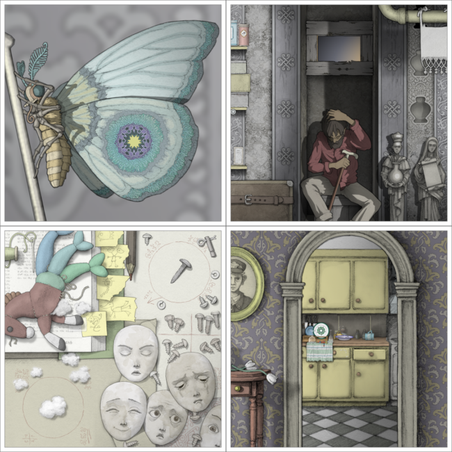 GOROGOA Hand Drawn Puzzler First Trailer Revealed by Annapurna Interactive