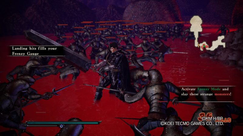 Berserk and the Band of the Hawk Review for PS4