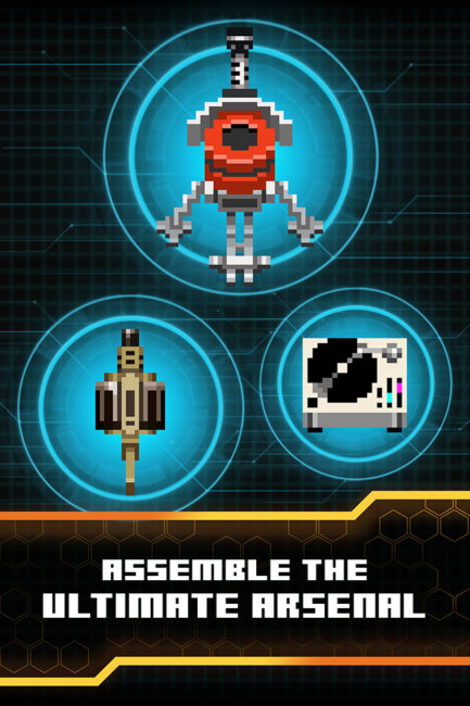 Evil Factory Retro 8-bit Arcade Mobile Game Now Out