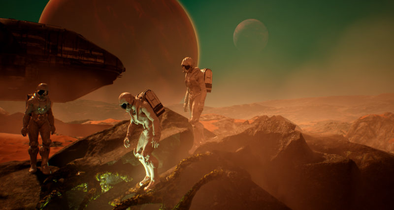 Genesis Alpha One Joins Team17 Games Label