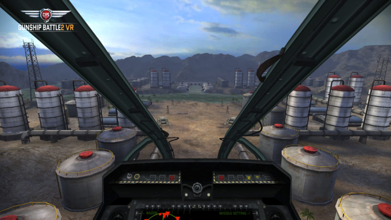 GUNSHIP BATTLE2 VR Launches Full Featured for SAMSUNG GEAR VR by Joycity