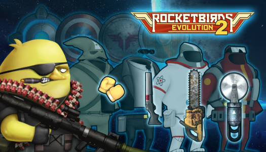 Rocketbirds 2: Evolution New DLC and Double Bundle Available Now