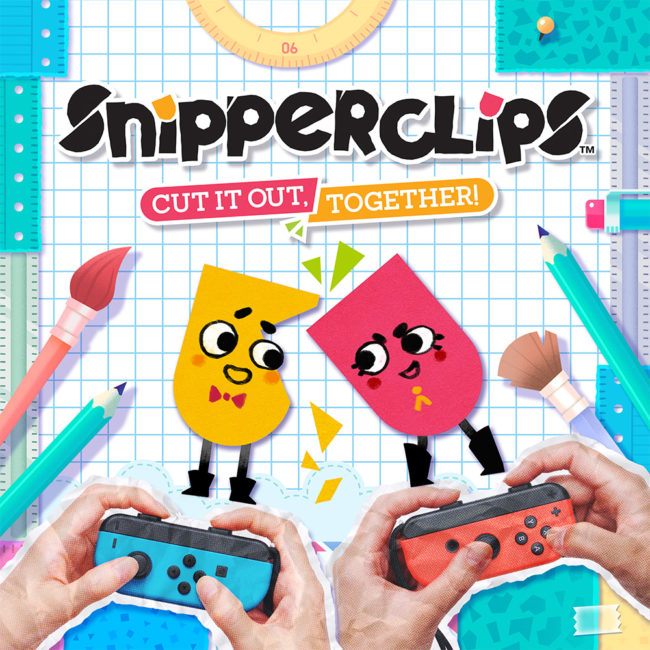 Snipperclips - Cut it out, together! Launches on Nintendo Switch March 3