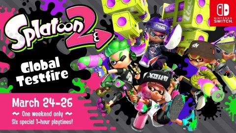 Splatoon 2 Global Testfire Coming this Weekend