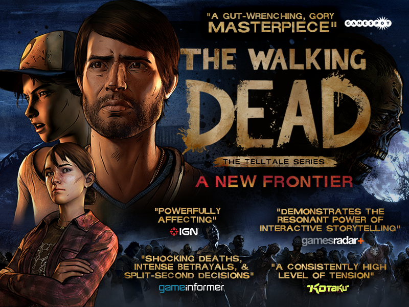 The Walking Dead: The Telltale Series - A New Frontier Now Available at Retail