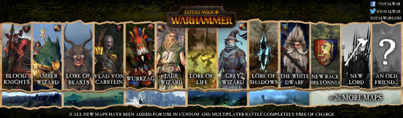 Total War: WARHAMMER Massive Free Expansion Coming Next Week, Early Access Available