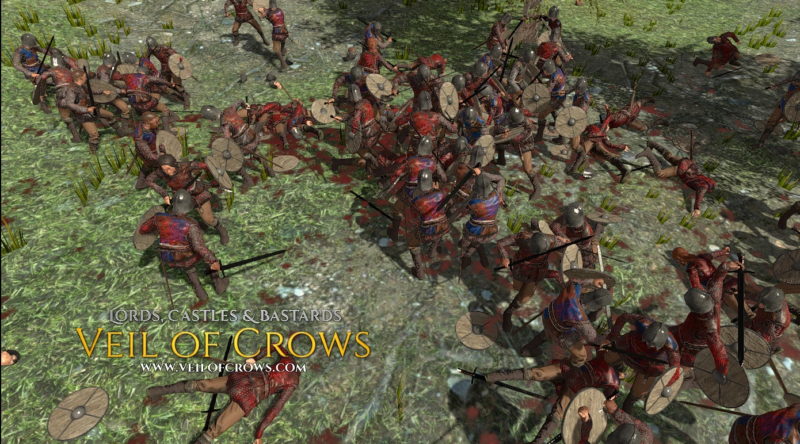 Veil of Crows Real Time Strategy Medieval Sandbox Game Launching on Steam Early Access Apr. 28