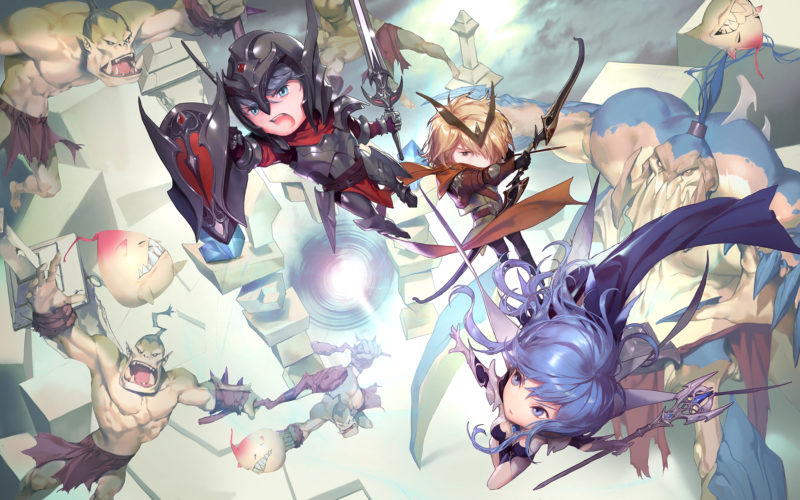 CRUSHMON Hack 'N' Slash Action RPG Revealed by Nexon Korea in Limited Territories