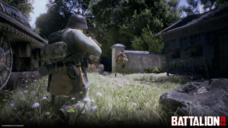 Square Enix Collective Exclusively Signs Old-School WW2 Shooter BATTALION 1944