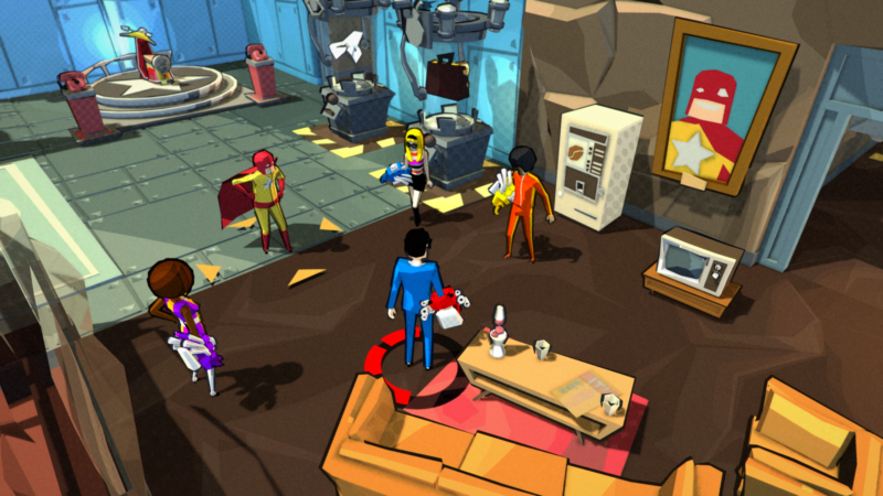 Square Enix Collective 3D Brawler DEADBEAT HEROES Launching Oct. 10