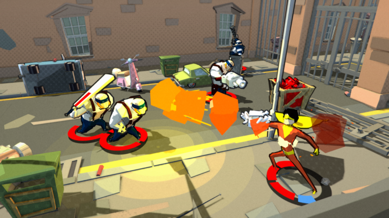 Deadbeat Heroes Brawling Crime Caper to be Published by Square Enix Collective