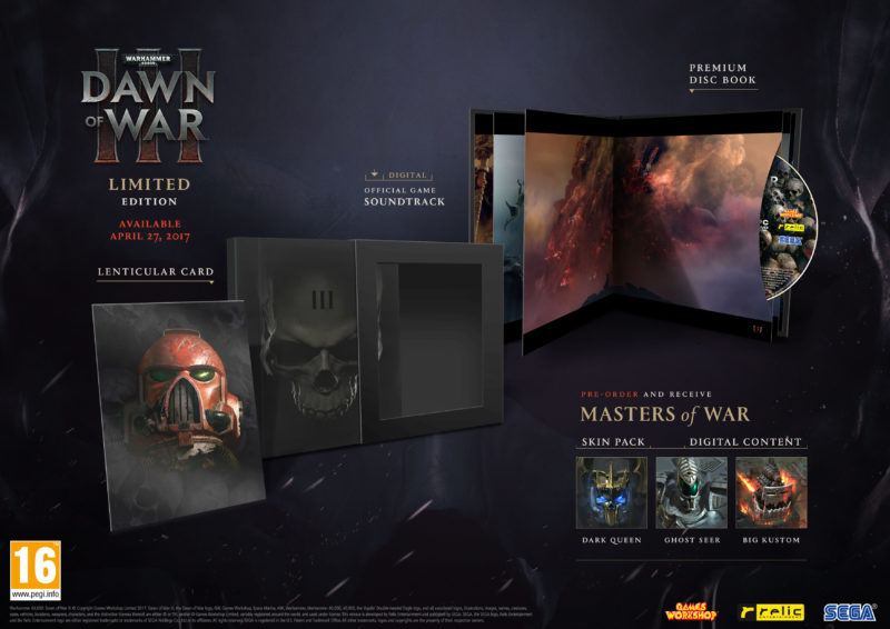 Warhammer 40,000: Dawn of War III Releasing April 27, New Trailer
