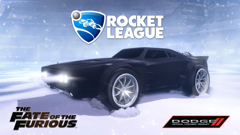 The Fate of the Furious DLC will be coming to Rocket League on April 4.