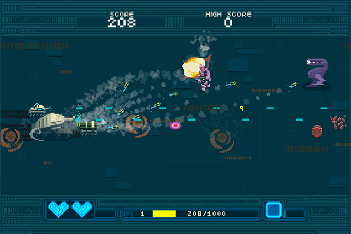 The '90s Are Back with Arcade Shoot 'em Up LIL TANKS Coming to Steam April 4