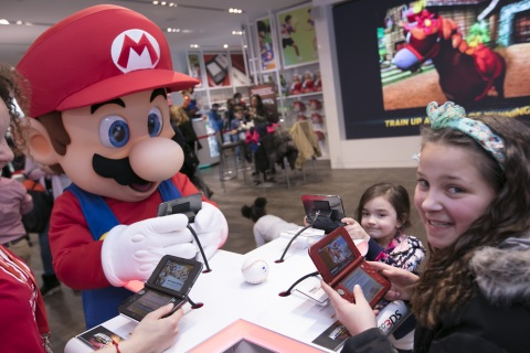 Mario Sports Superstars Launch Tournament at Nintendo NY Store Photos Revealed