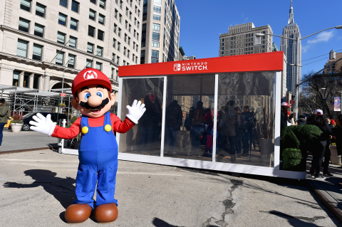 Photos Released of Nintendo's NY Store Nintendo Switch Launch Event & Unexpected Places