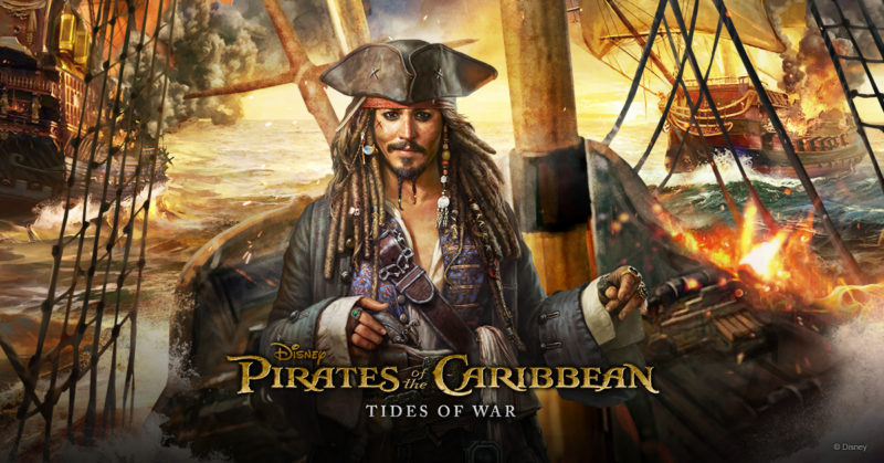 Pirates of the Caribbean: Tides of War Announced for Mobile, Global Pre-Registration Now Open