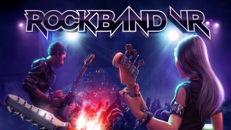 Rock Band VR Available Now in Oculus Store