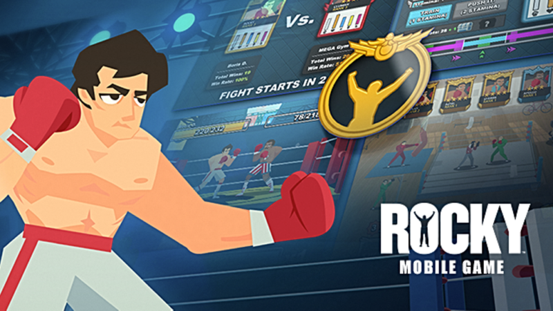 ROCKY Boxing Game Now Available on Google Play