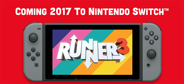 Runner3 Announced for Nintendo Switch by Choice Provisions