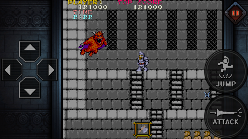 Ghost'N Goblins Mobile Now Available For iOS and Android Devices