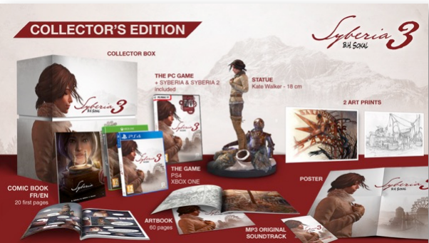 Syberia 3 New Story Trailer Revealed