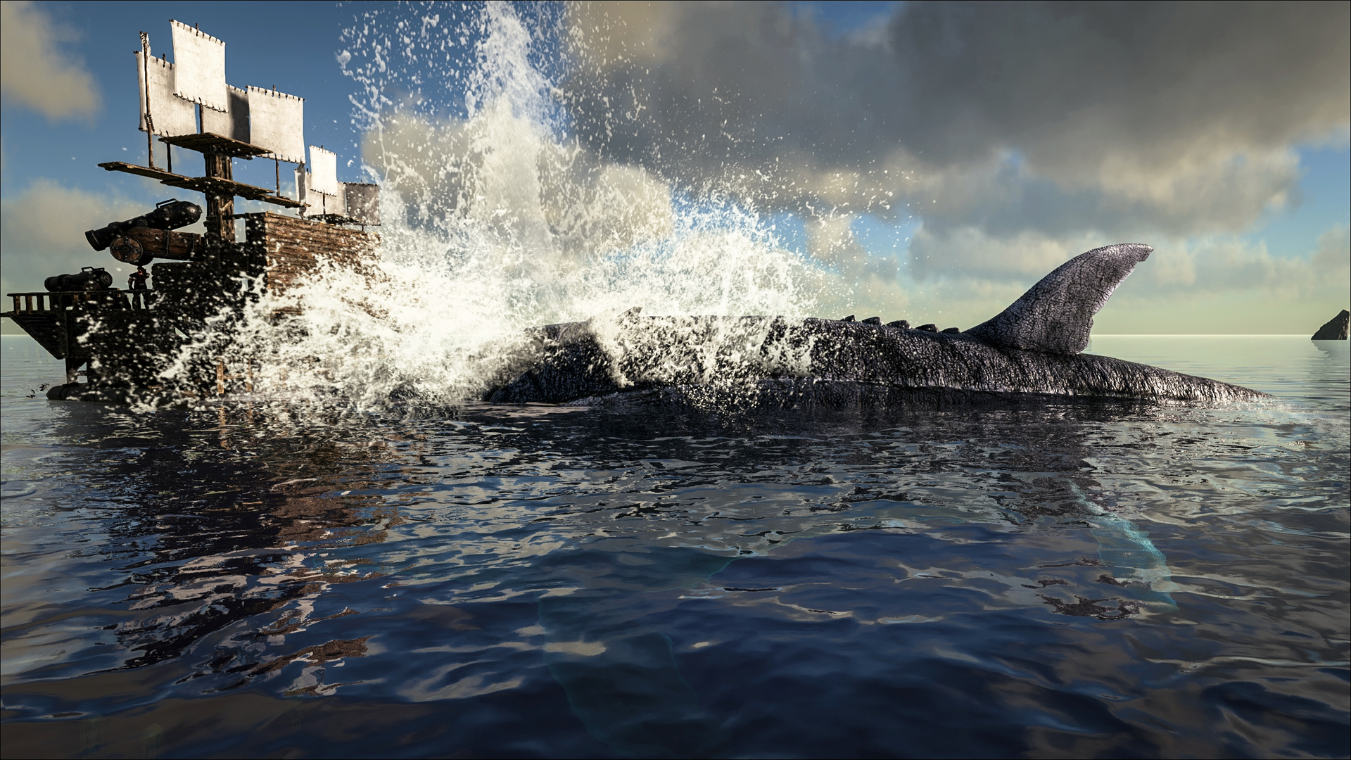 ARK Survival Evolved Patch 256 Features Underwater Bases