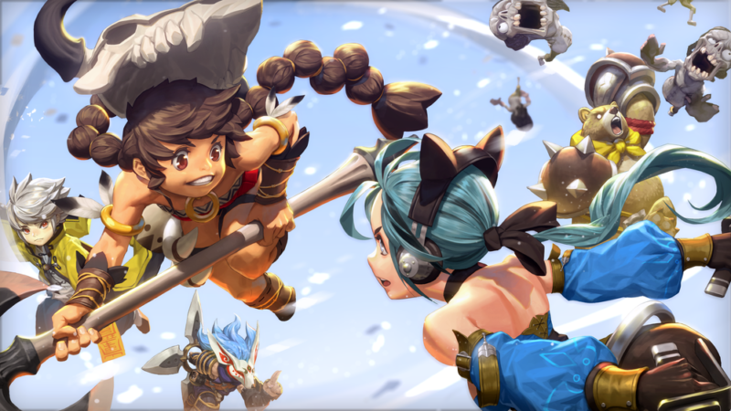 Arena Masters: Legend Begins Competitive Mobile Strategy Game Launched by Nexon Korea