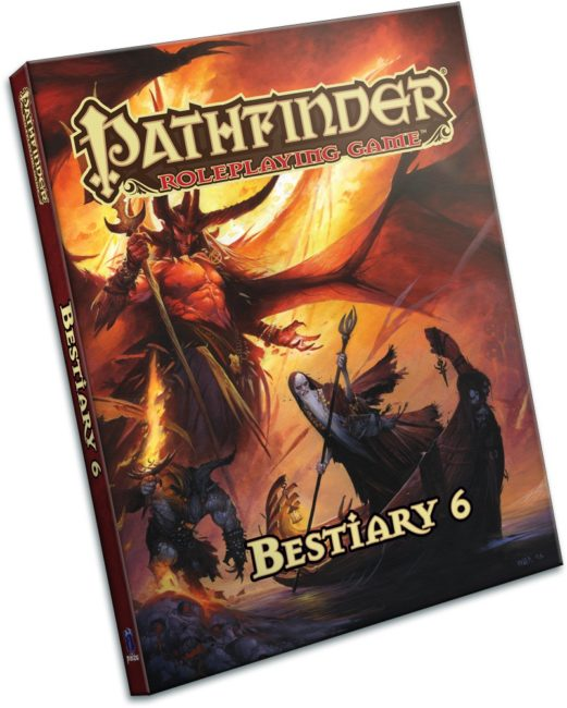 Bestiary 6 Now Out for Pathfinder RPG