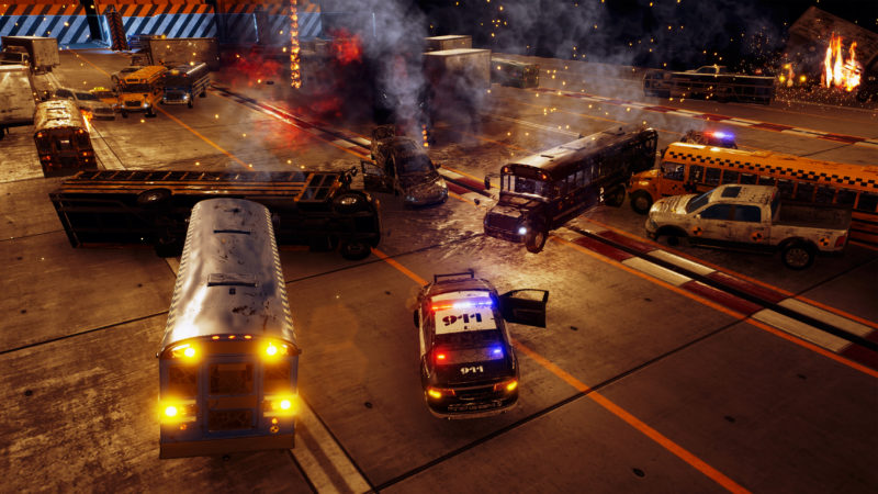 DANGER ZONE a New 3D Vehicular Destruction Game Coming to PS4 and PC in May