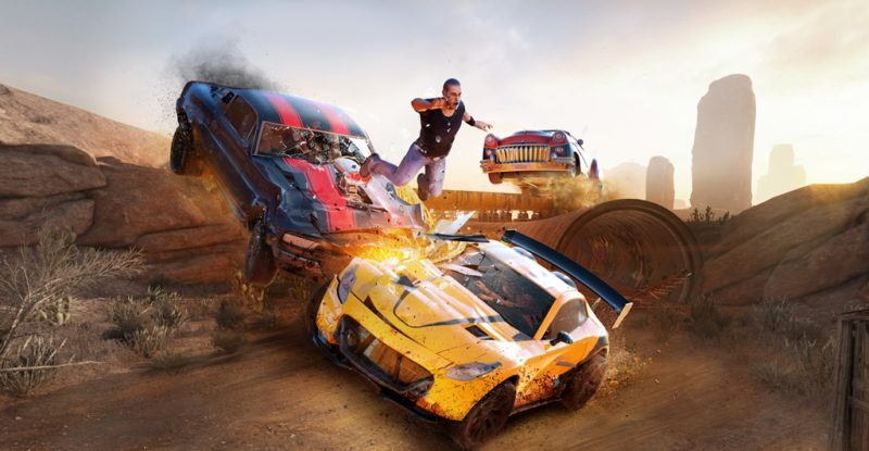 FlatOut 4: Total Insanity Available Now on Steam, Console Launching May 2