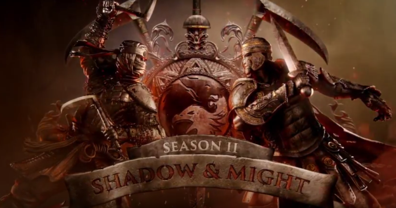 FOR HONOR Season Two SHADOW AND MIGHT Coming May 16