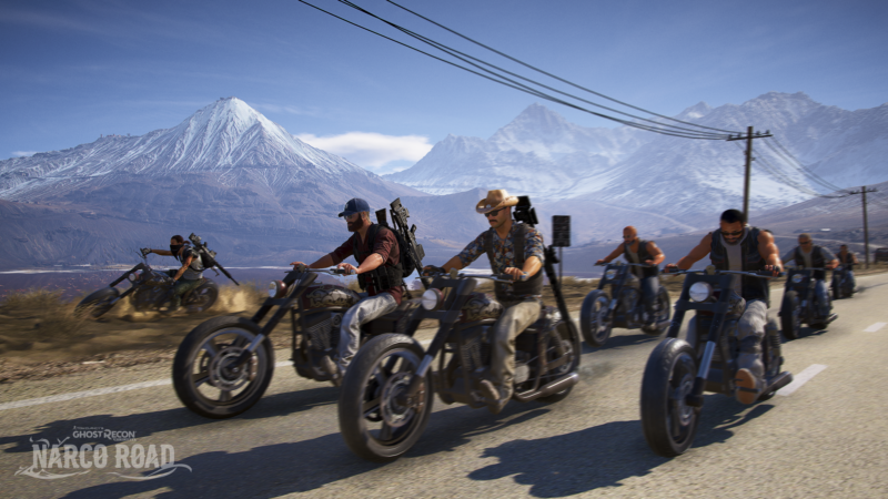 Tom Clancy's Ghost Recon Wildlands First Expansion NARCO ROAD Lets You Go Undercover