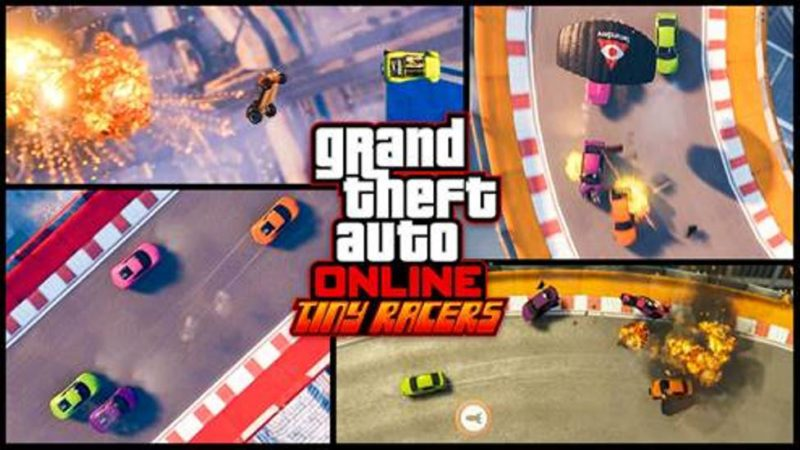 GTA Online Tiny Racers Coming April 25, New Video